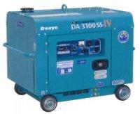デンヨーDA-3100SS-IV:防音型インバータディーゼル発電機