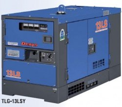 画像1: デンヨーTLG-13LSY:防音型ディーゼル発電機(三相)