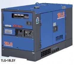 画像1: デンヨーTLG-18LSY:防音型ディーゼル発電機(三相)