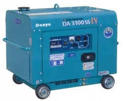 画像1: デンヨーDA-3100SS-IV:防音型インバータディーゼル発電機