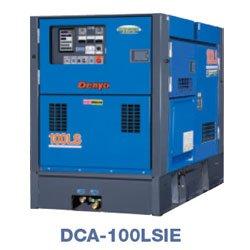 画像1: デンヨーDCA-100LSIE:防音型ディーゼル発電機(三相)