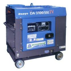 画像1: デンヨーDA-3100SSEIV:防音型インバータディーゼル発電機 エコベース