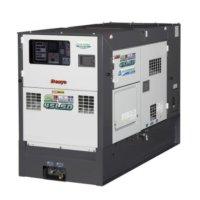 デンヨーDCA-45LSKE-D2:防音型ディーゼル発電機サイマルジェネレータ(三相・単相同時出力)